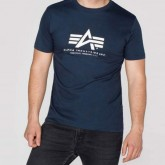 Alpha Basic T-Shirt navy