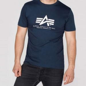 Alpha Basic T-Shirt navy